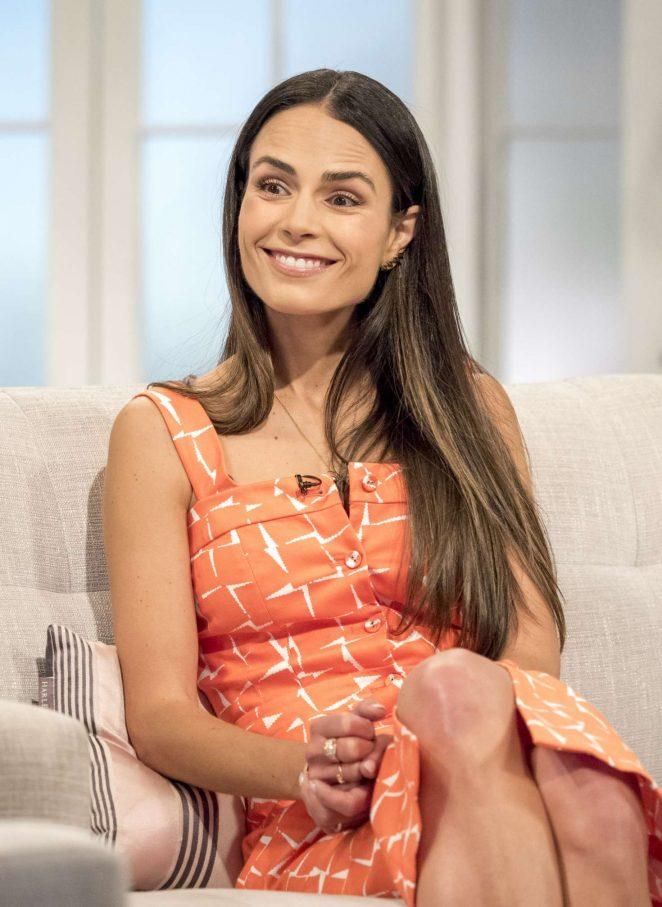 Jordana Brewster on 'Lorraine' TV Show in London