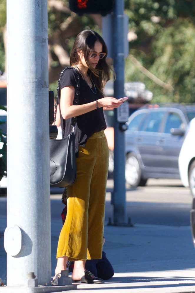 Jordana Brewster out for lunch in LA