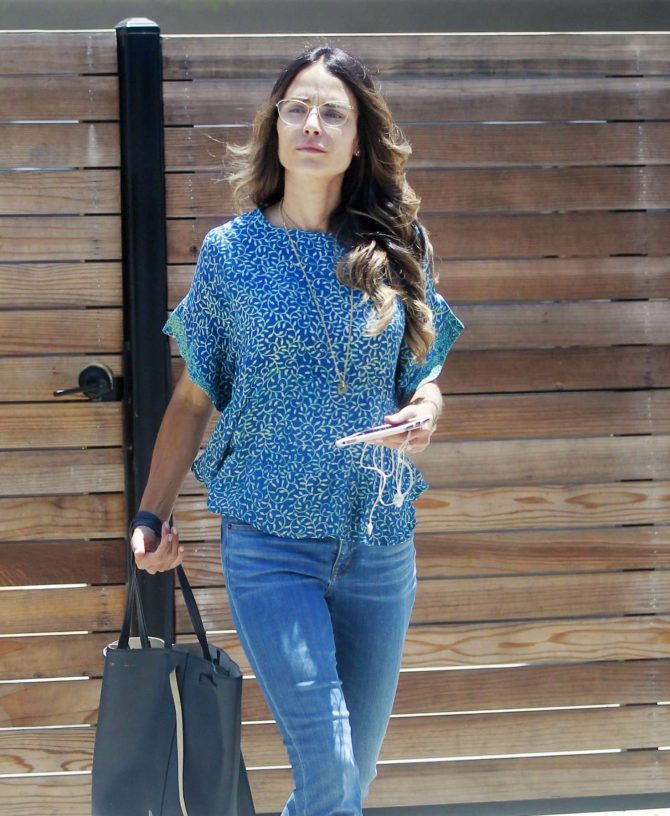Jordana Brewster - Out in Beverly Hills