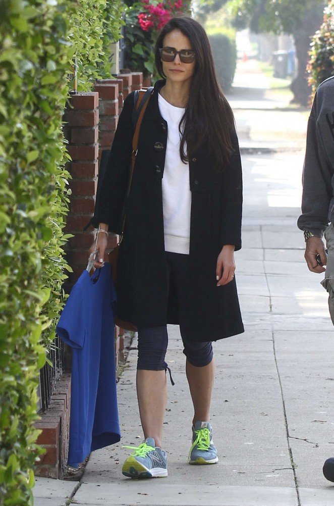 Jordana Brewster out in Los Angeles