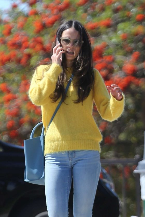 Jordana Brewster - Out in Los Angeles