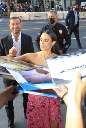 Jordana Brewster - Pictured at F9 Premiere in Hollywood