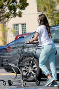 Jordana Brewster - Seen at supermarket in Los Angeles