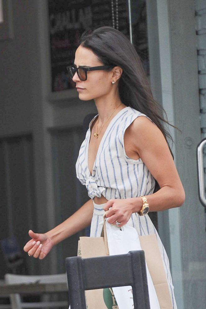 Jordana Brewster Shopping in Santa Monica -04