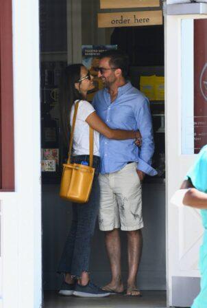 Jordana Brewster - With boyfriend Mason Morfit out in Brentwood