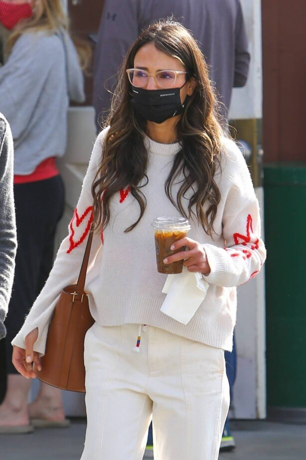 Jordana Brewster - With Mason Mortig out in Brentwood