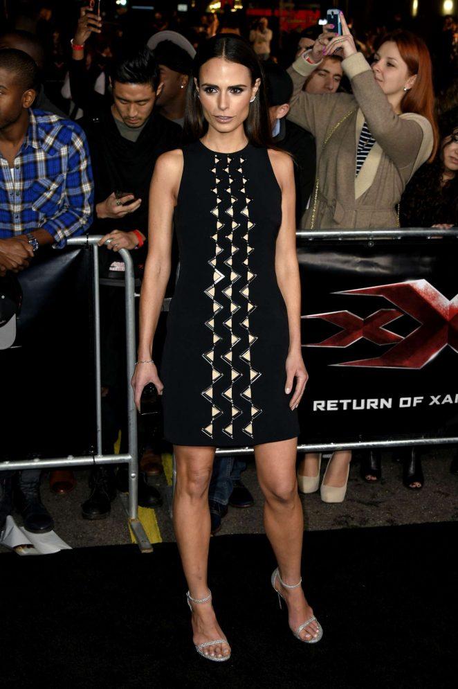 Jordana Brewster - 'xXx: Return of Xander Cage' Premiere in Los Angeles