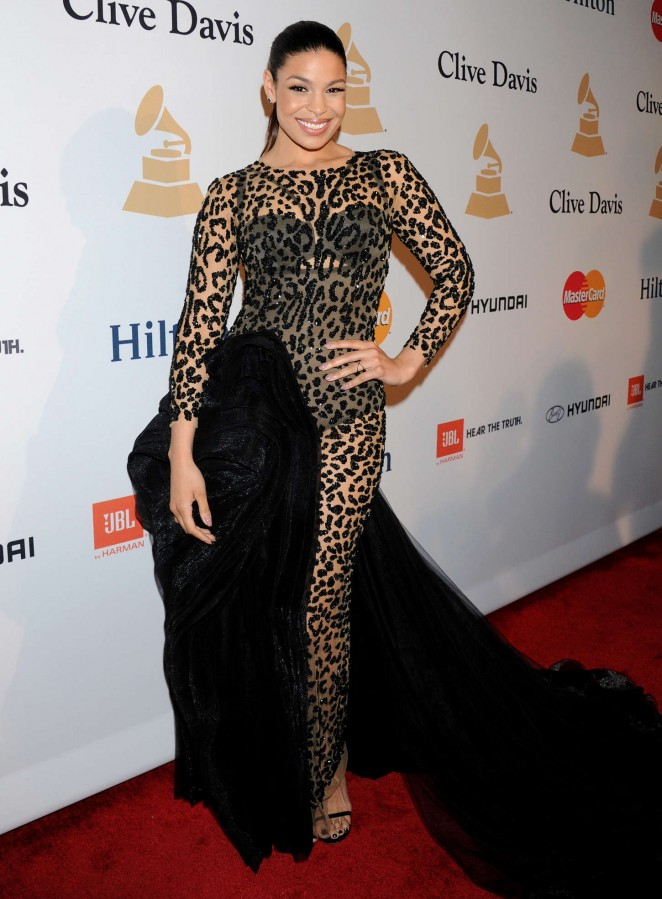 Jordin Sparks - Pre-GRAMMY Gala and Salute To Industry Icons in Los Angeles
