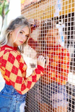 Jordyn Jones - Ashley Roberts photoshoot - August 2021