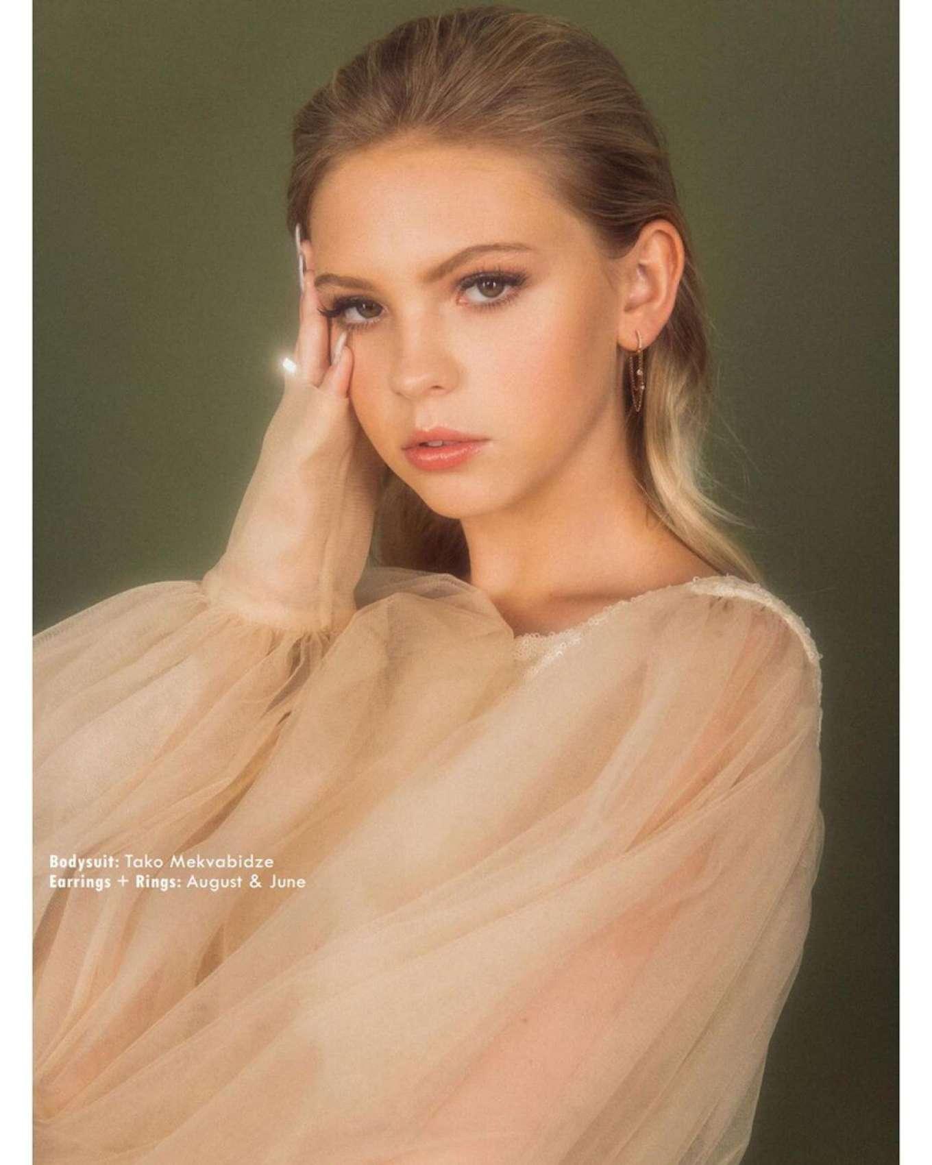 Jordyn Jones 2019 : Jordyn Jones – Avante Magazine 2019 adds-04