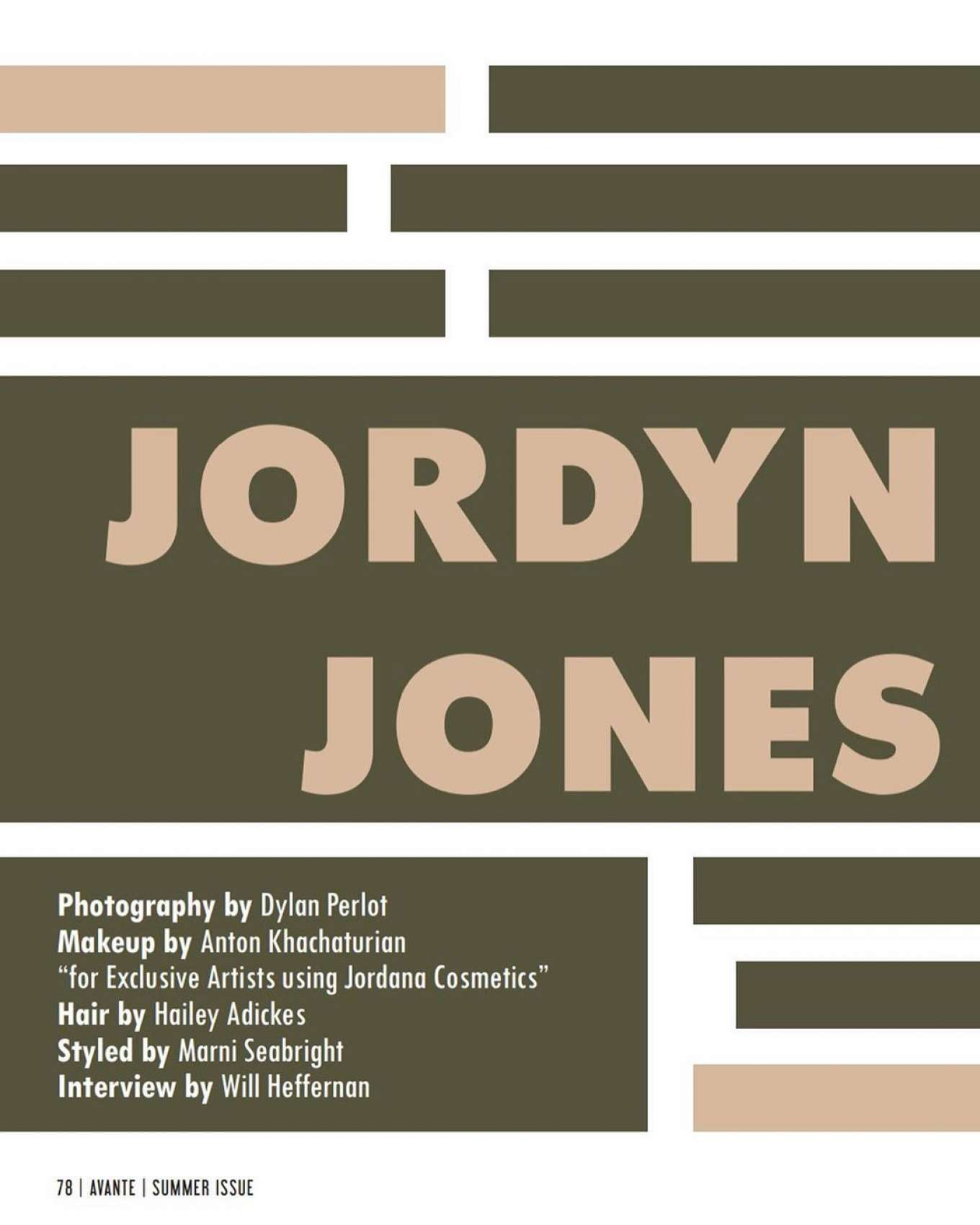 Jordyn Jones 2019 : Jordyn Jones – Avante Magazine 2019 adds-08