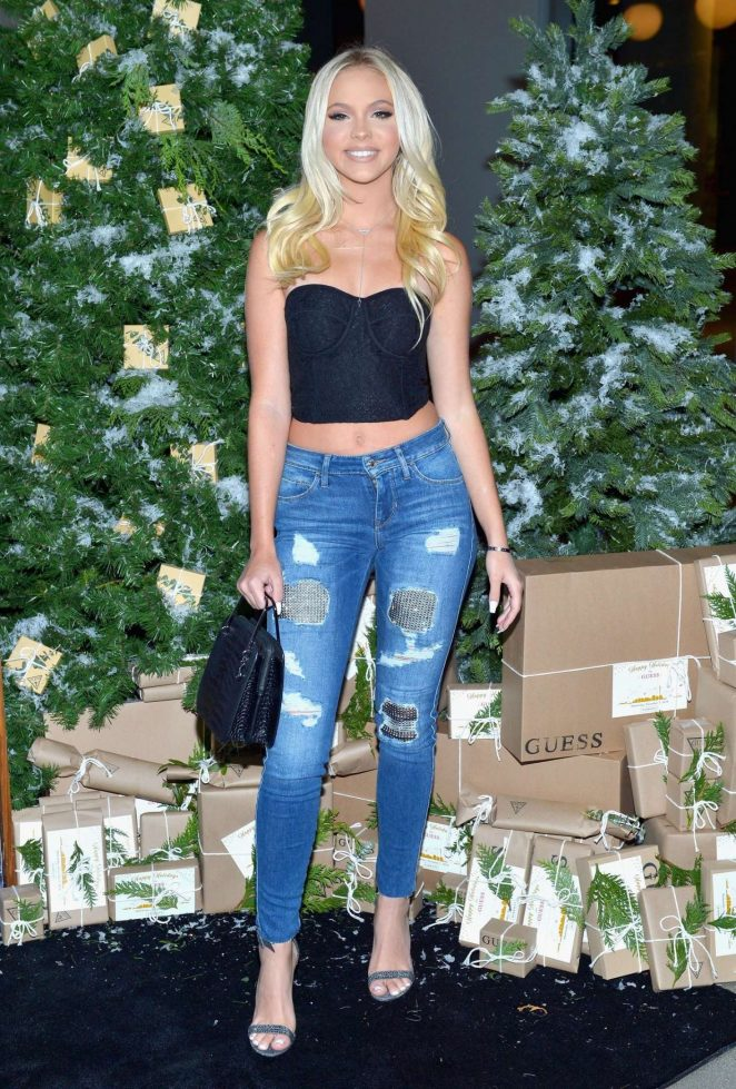 Jordyn Jones – GUESS Holiday 2018 Event in West Hollywood