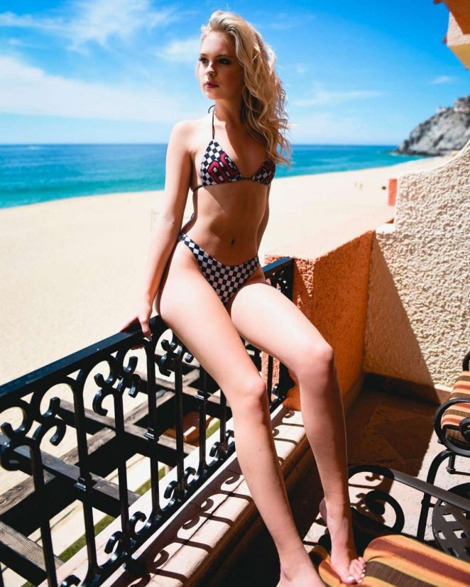 Jordyn Jones in Bikini Instagram Pic
