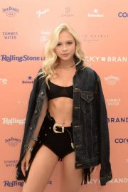 Jordyn Jones - Lucky Brand And Rolling Stone Live Present Desert Jam in Palm Springs