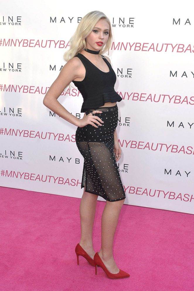 Jordyn Jones - Maybelline New York Beauty Bash in Los Angeles