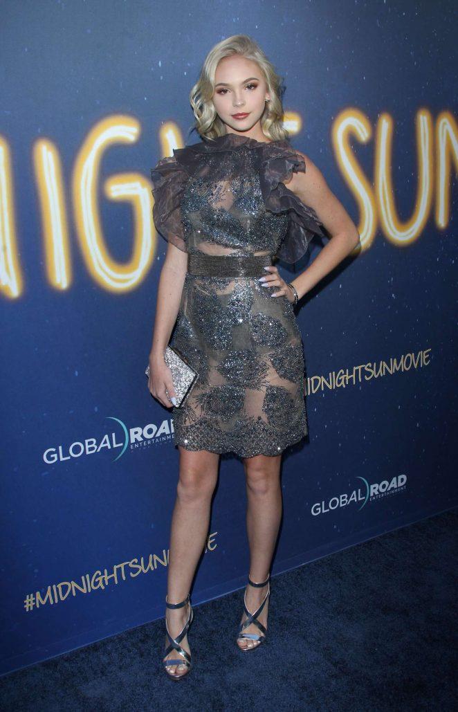 Jordyn Jones - 'Midnight Sun' Premiere in Los Angeles