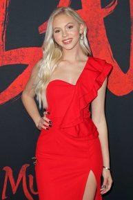 Jordyn Jones - 'Mulan' Premiere in Hollywood