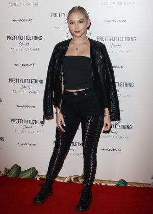 Jordyn Jones - PrettyLittleThing Ashley Graham Event in LA