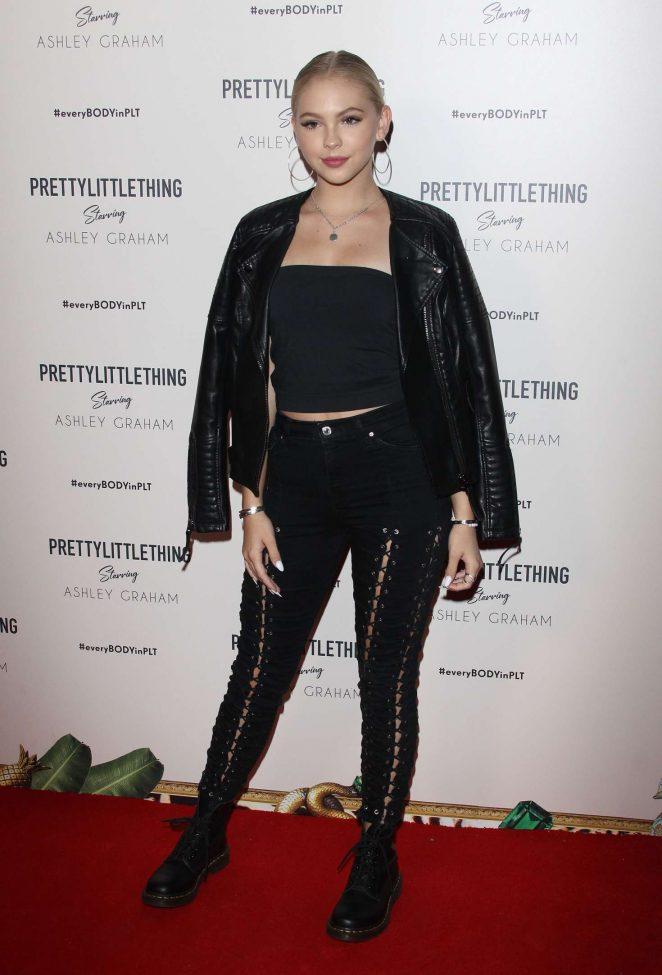 Jordyn Jones - PrettyLittleThing Ashley Graham Event in LA