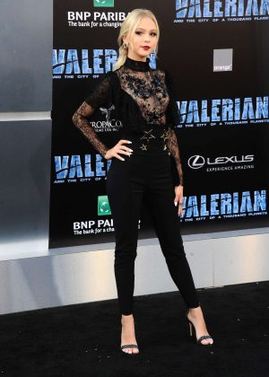 Jordyn Jones - 'Valerian and The City of a Thousand Planets' Premiere in Hollywood