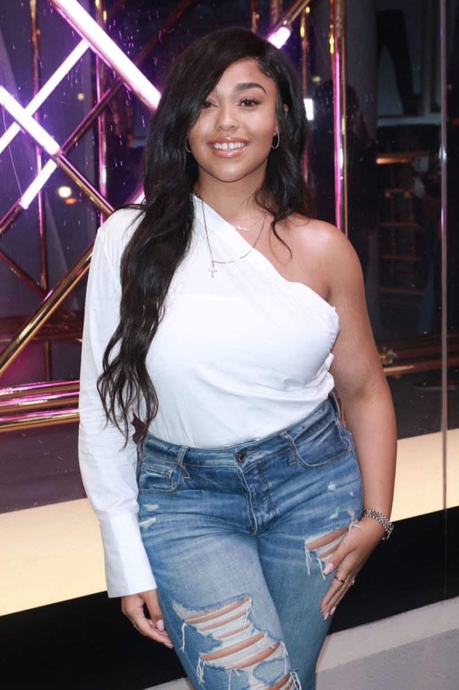 Jordyn Woods - American Eagle Celebrates 40 Years in NY