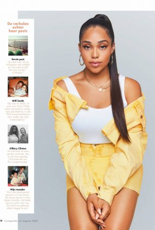 Jordyn Woods - Cosmopolitan Netherlands Magazine (July 2020)