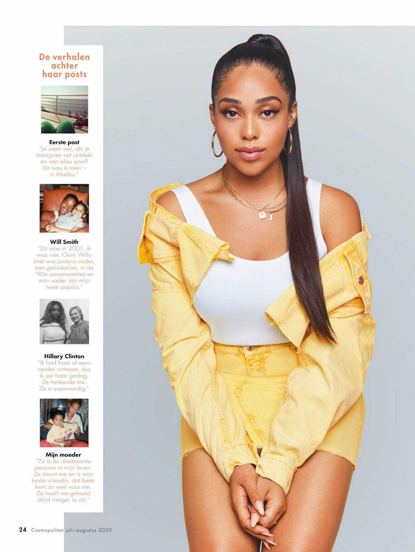 Jordyn Woods - Cosmopolitan Netherlands Magazine (July 2020)