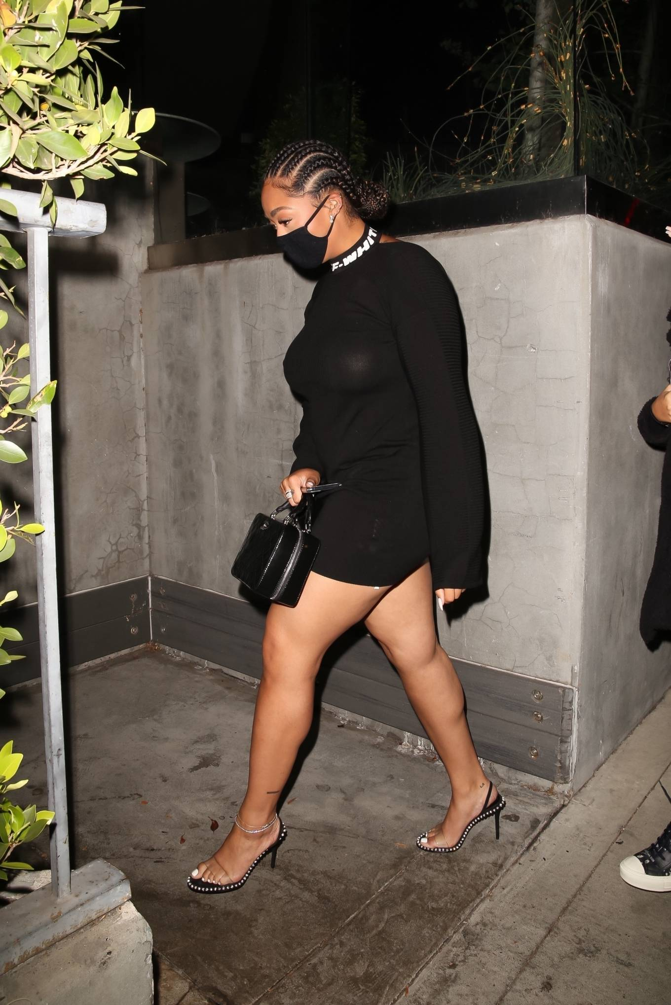 Jordyn Woods - Seen at BOA steakhouse in West Hollywood