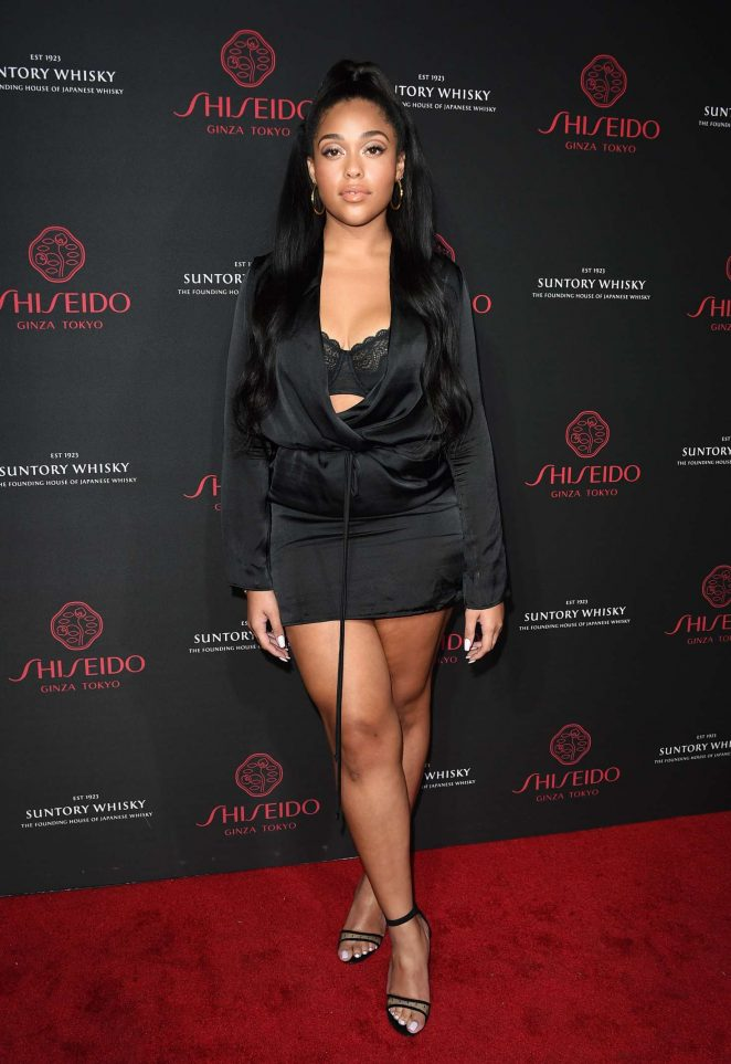 Jordyn Woods - Shiseido Makeup Launch in LA