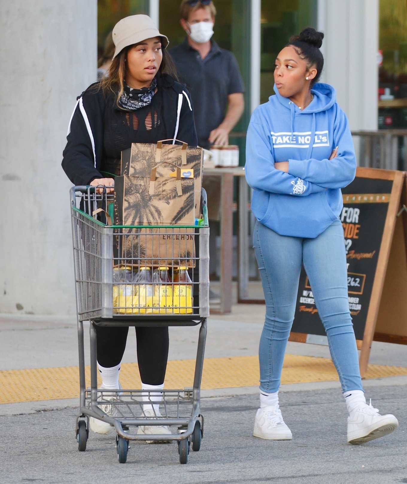 Jordyn Woods 2020 : Jordyn Woods – Shopping in Los Angeles-01