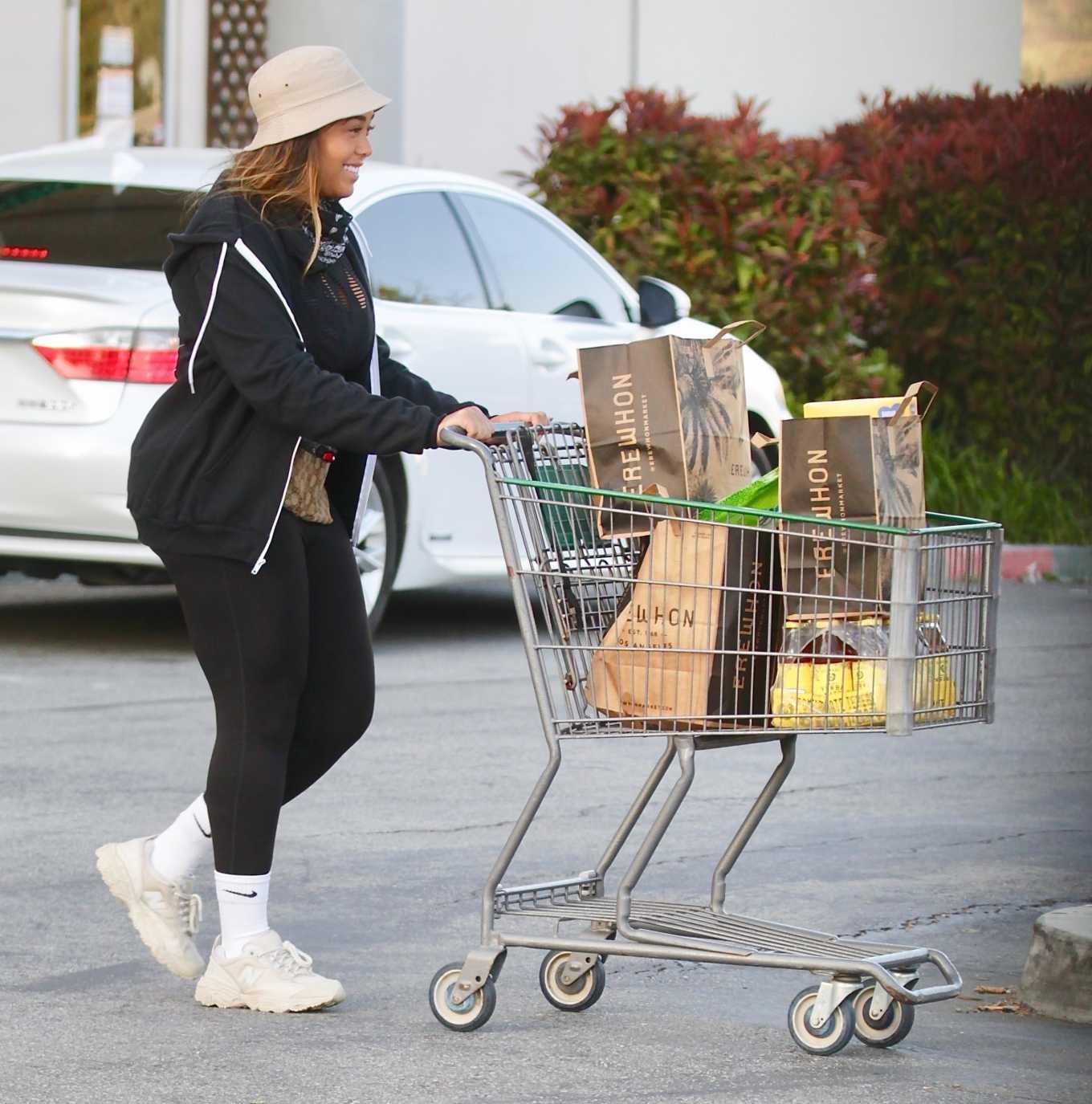 Jordyn Woods 2020 : Jordyn Woods – Shopping in Los Angeles-03