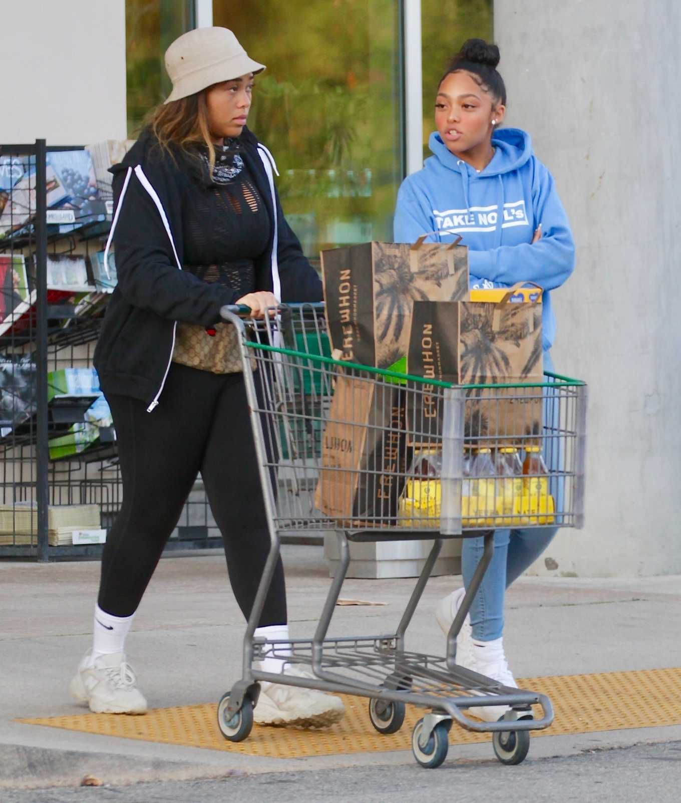 Jordyn Woods 2020 : Jordyn Woods – Shopping in Los Angeles-04
