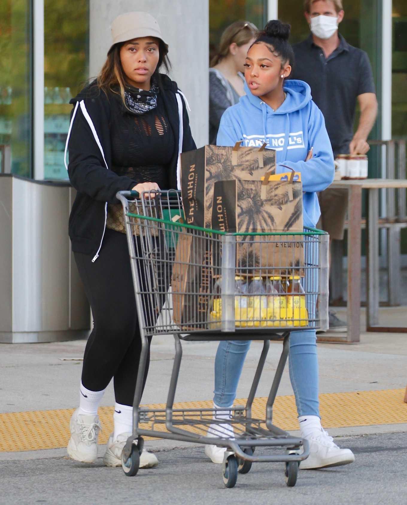 Jordyn Woods 2020 : Jordyn Woods – Shopping in Los Angeles-08