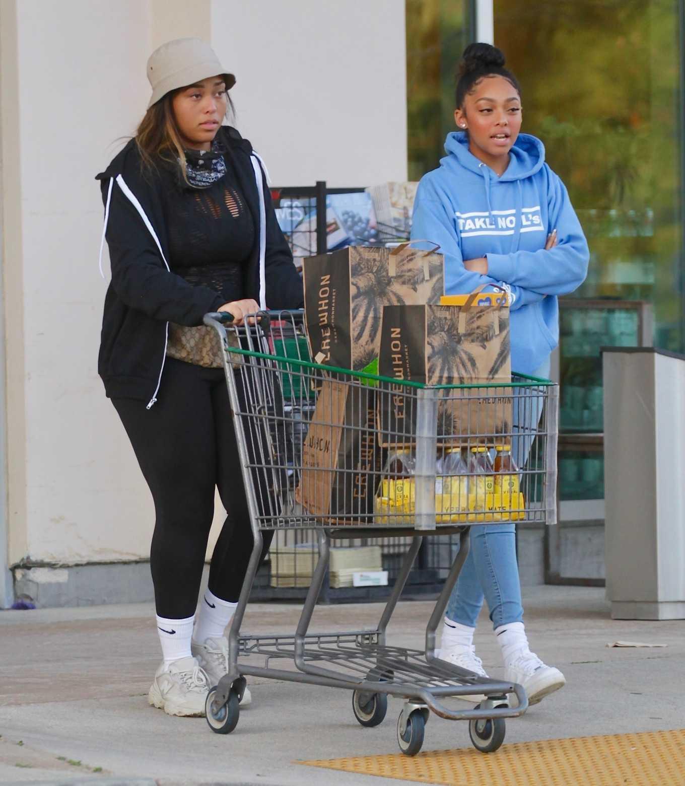 Jordyn Woods 2020 : Jordyn Woods – Shopping in Los Angeles-12