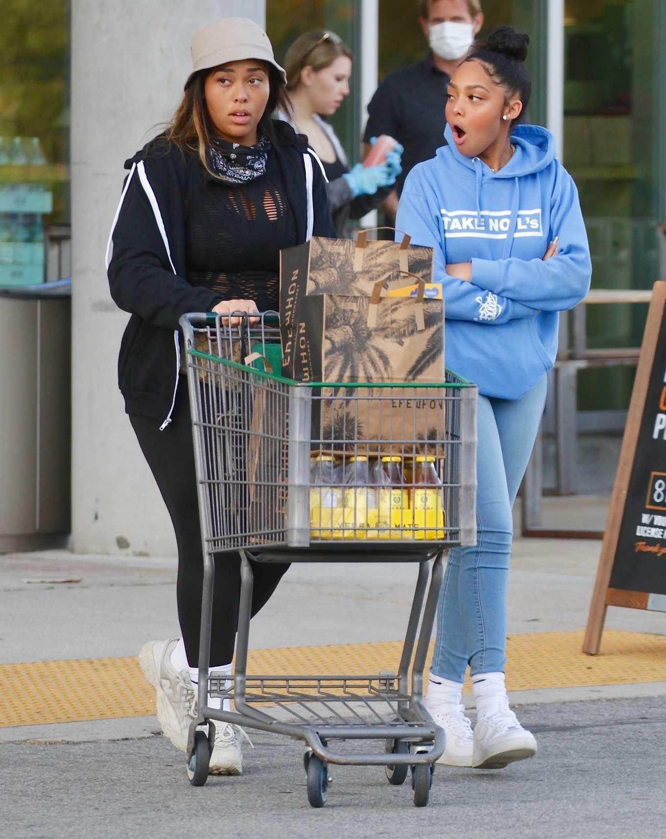 Jordyn Woods 2020 : Jordyn Woods – Shopping in Los Angeles-13