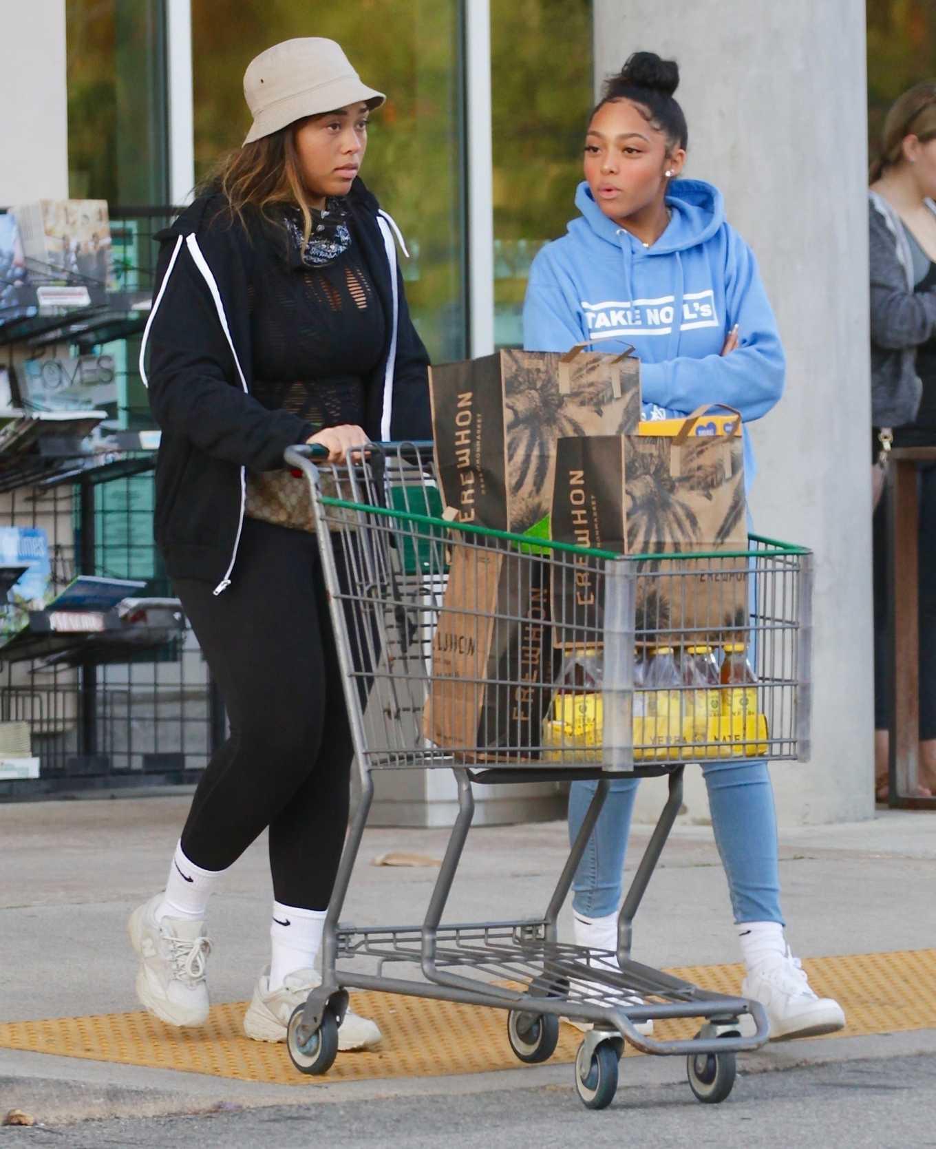 Jordyn Woods 2020 : Jordyn Woods – Shopping in Los Angeles-15