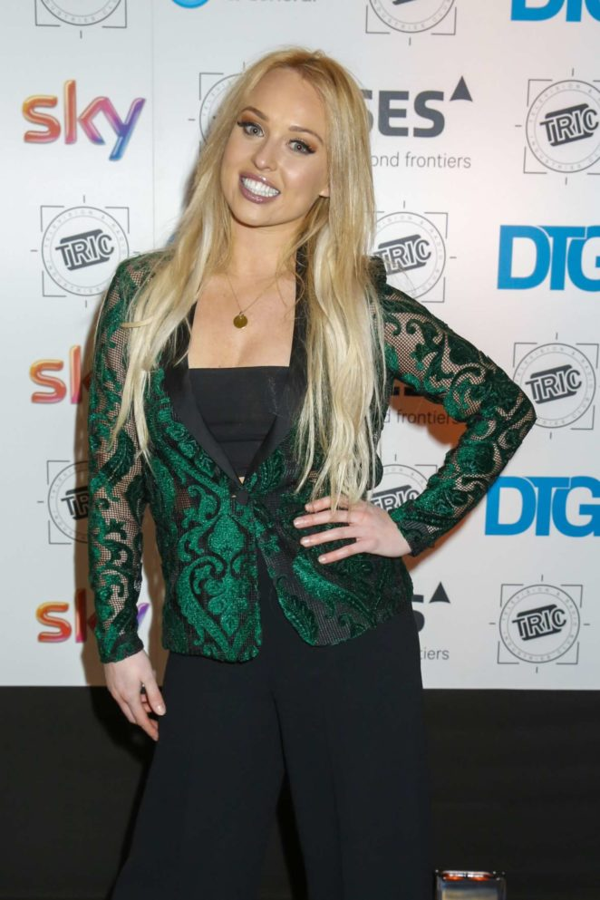 Jorgie Porter - 2017 TRIC Awards Christmas Lunch in London
