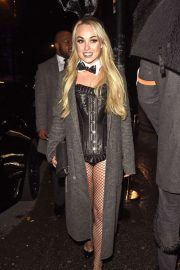 Jorgie Porter - Arrives at PLT Halloween Party in Manchester