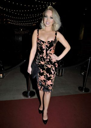 Jorgie Porter - Arriving at The Christie Charity Ball in Manchester