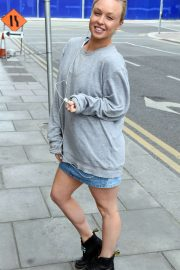 Jorgie Porter at Bord Gais Theater in Dublin