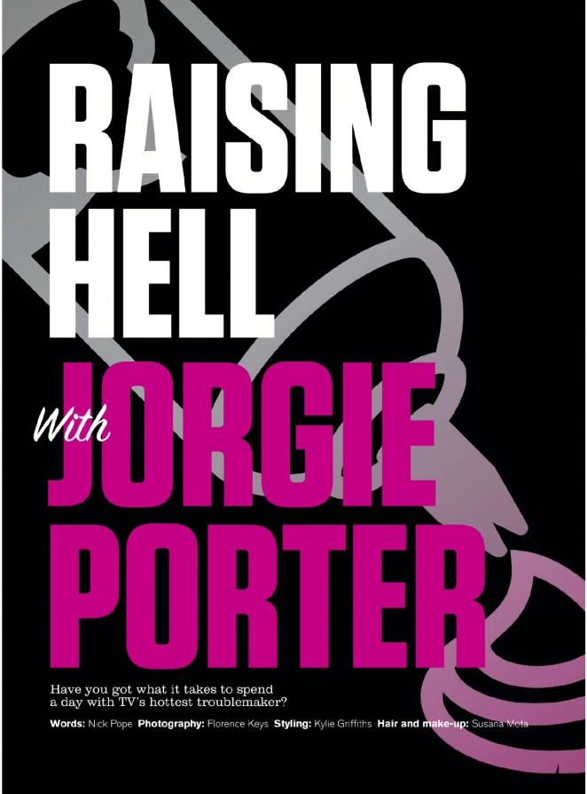 Jorgie Porter: FHM UK 2015 -08