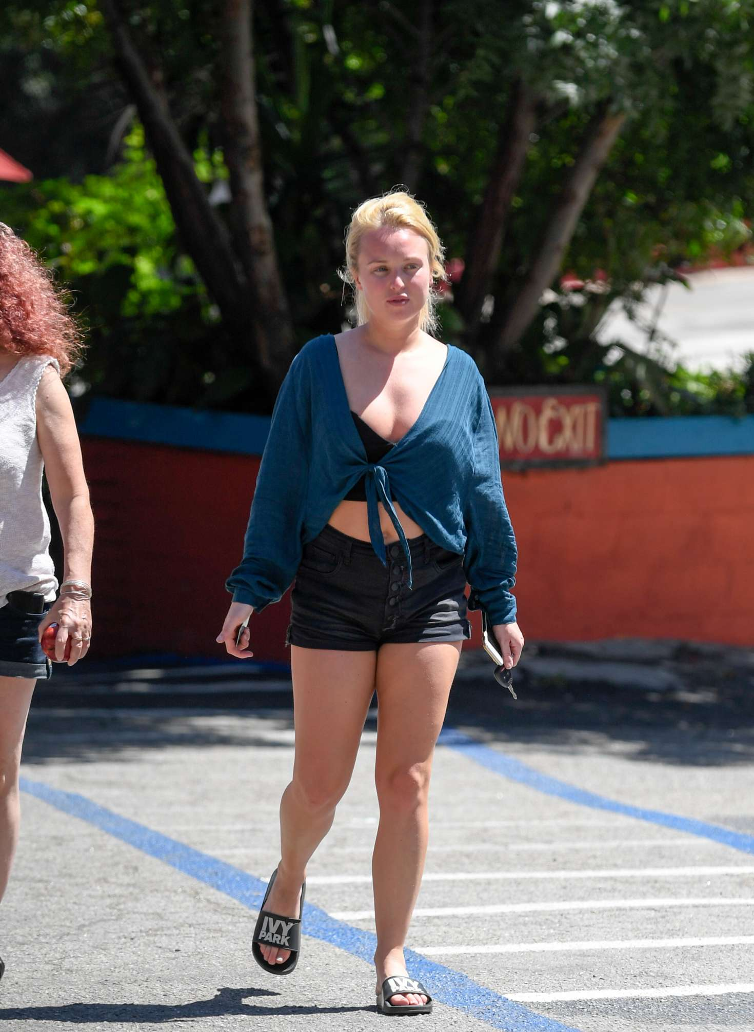 Jorgie Porter In Shorts Out In Los Angeles