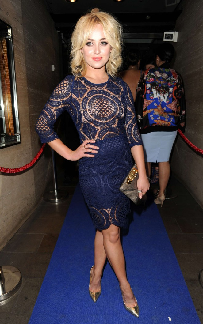 Jorgie Porter - Manchester Fashion Industry Show in Manchester