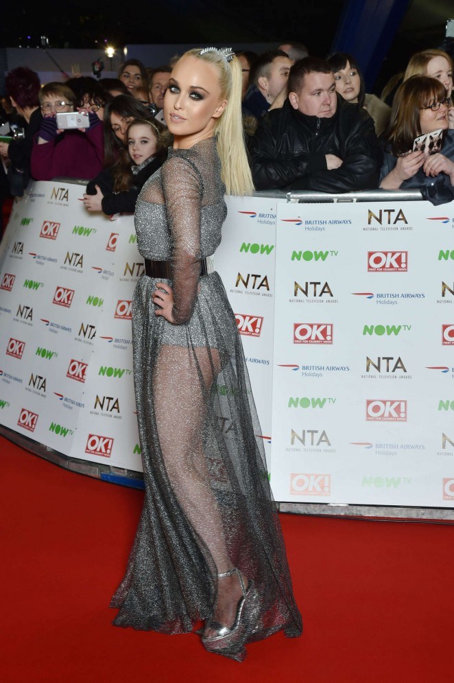 Jorgie Porter - National Television Awards 2016 in London