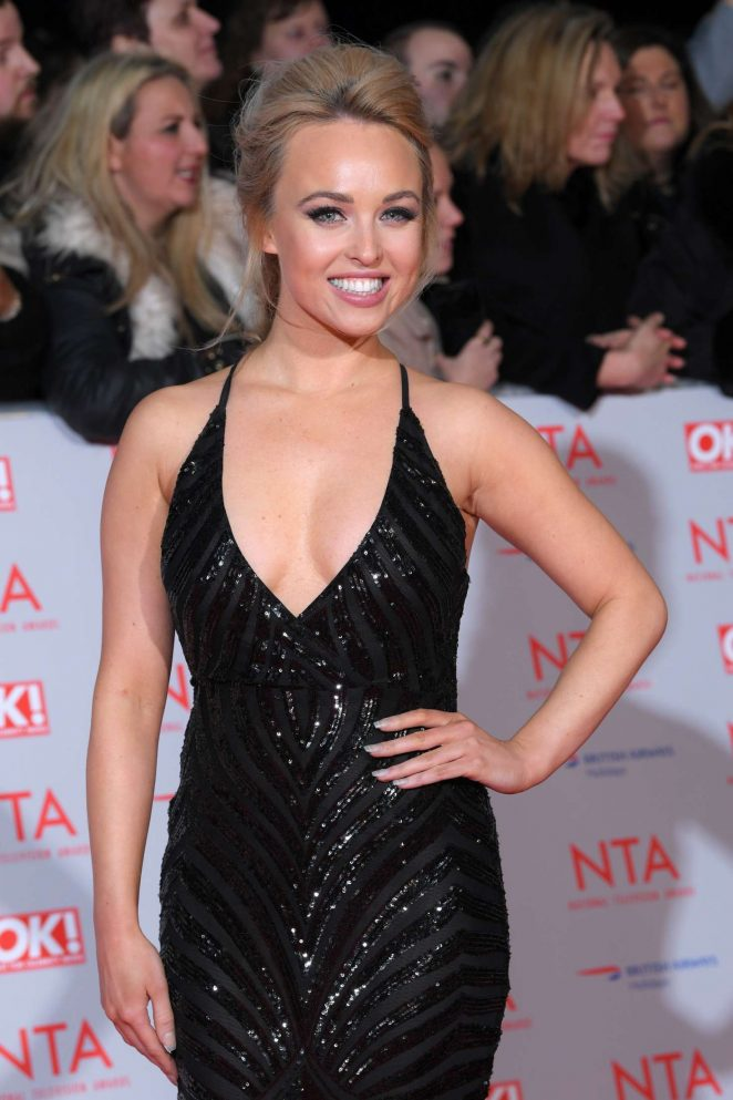 Jorgie Porter - National Television Awards 2018 in London