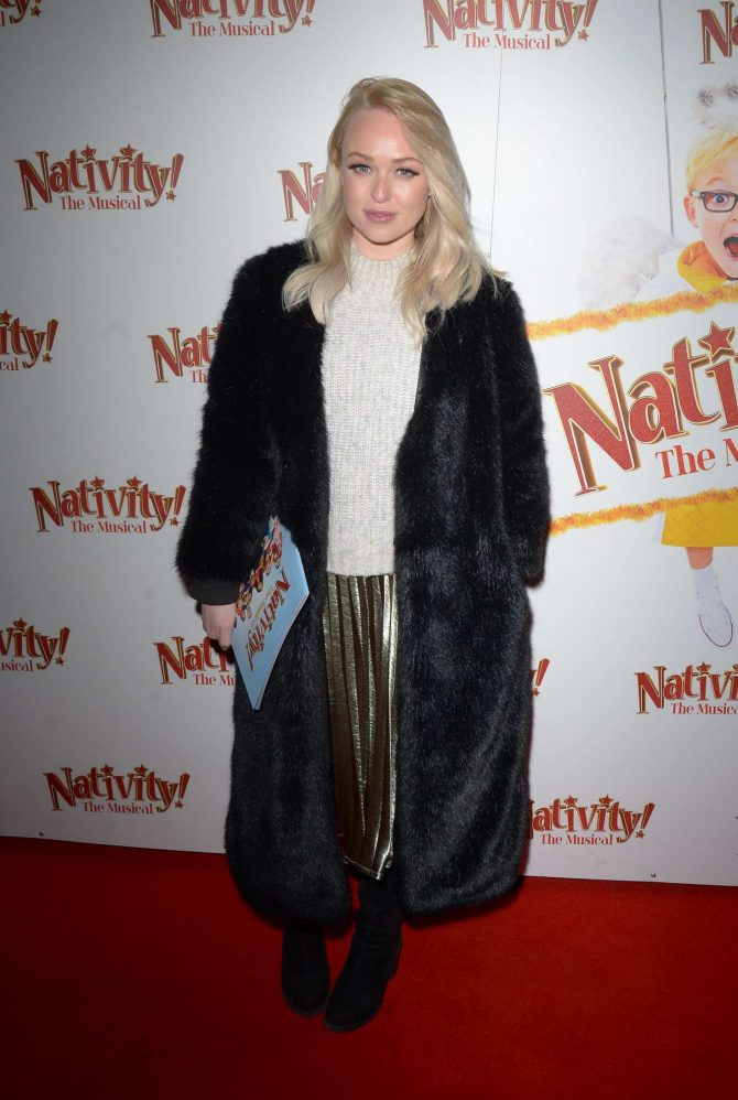 Jorgie Porter – 'Nativity The Musical' Gala Night in London