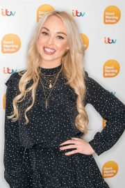 Jorgie Porter - On 'Good Morning Britain' in London