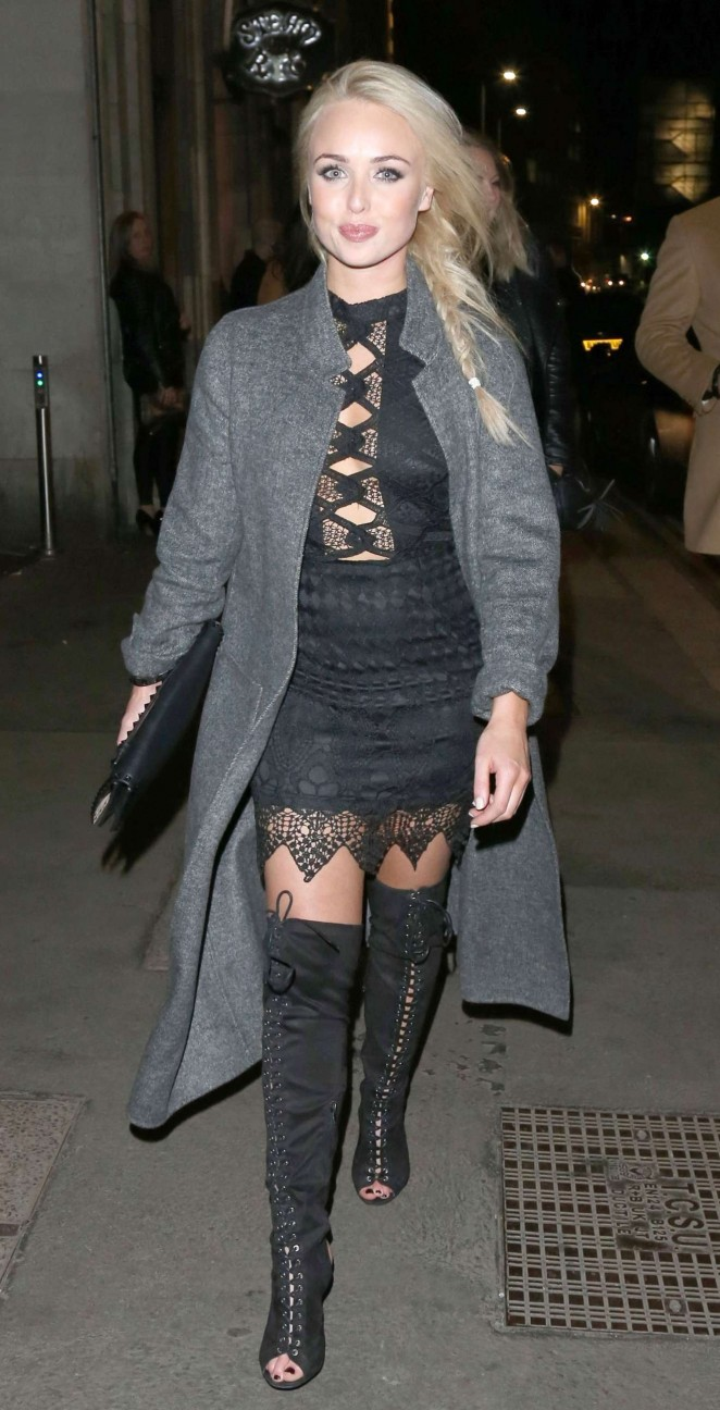 Jorgie Porter - Seen at Steam and Rye in London