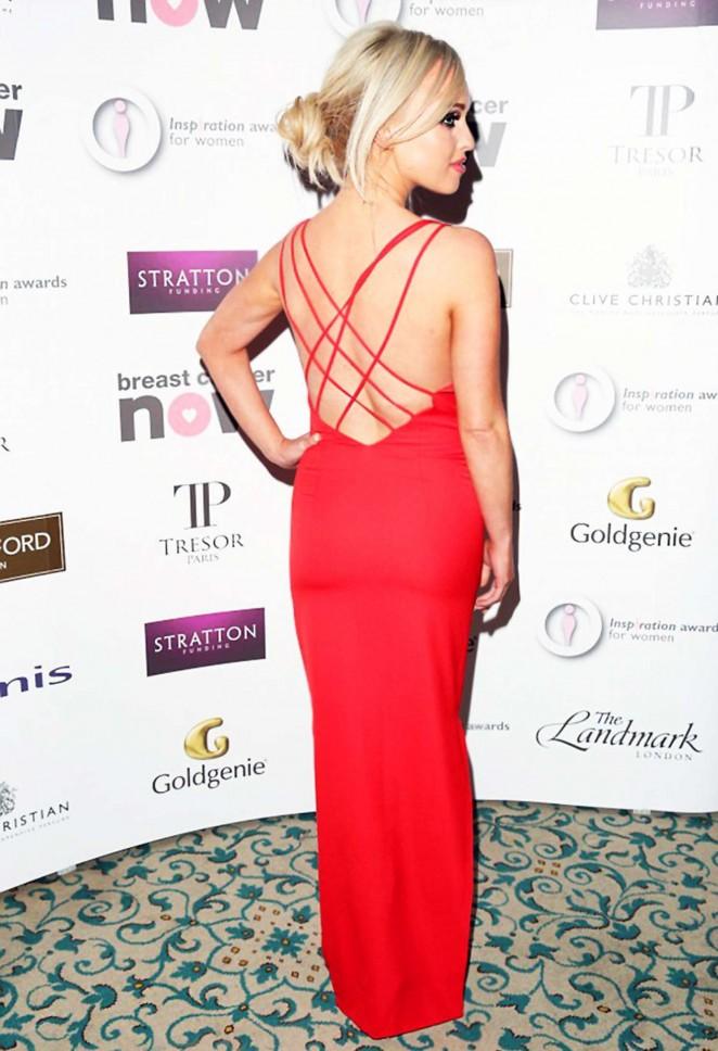 Jorgie Porter: The Inspiration Awards for Women 2015 -05