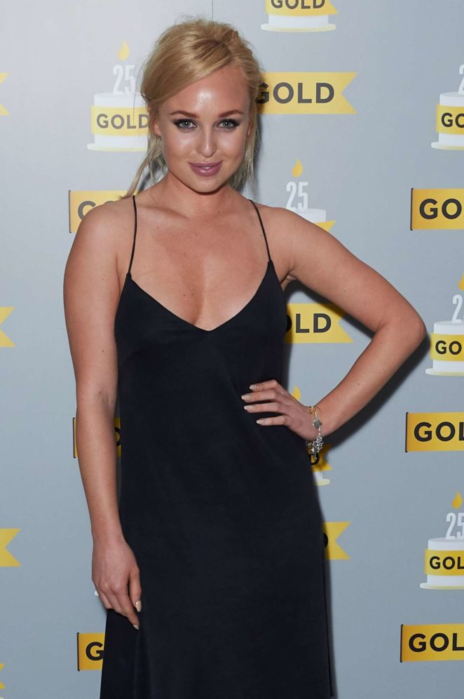 Jorgie Porter – UKTV's Comedy Channel Hold 25th Anniversary Party in London